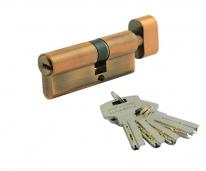Цилиндровый механизм Нора-М Люкс I Л-70 (Застаренная Медь) (40-30)