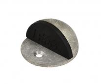 Ограничитель дверной напольный  Нора-М 100 (Застаренное Серебро)
