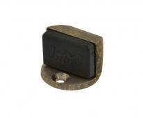 Ограничитель дверной напольный  Нора-М 107 (Застаренная бронза)