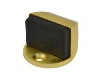 Ограничитель дверной напольный  Нора-М 107 (Матовое Золото)