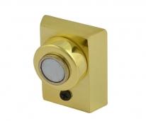Ограничитель дверной напольный магнитный  Нора-М 801 (Золото)