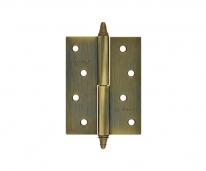 """Петля дверная универсальная Нора-М 610-4"""", Матовая бронза (Левая)"""