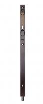 Ригель (торцевой ограничитель, шпингалет) AGB D003504002 400 мм темная бронза