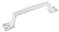 Ручка дверная скоба Рс-100 Мм (Белая),Нора-М