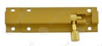 Шпингалет (Латунь) 501-80 золото,Нора-М