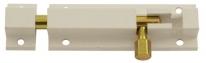 Шпингалет 501-80 (Белый),Нора-М