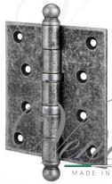 Петля дверная универсальная Aldeghi Premium 136Fa403, Античное Серебро