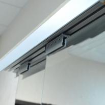 Механизм для раздвижных дверей Tele Scopic-Glass-3-4