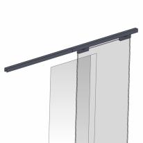 Механизм для раздвижных дверей Pq004-2 для одностворчатых дверей