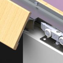 Механизм для раздвижных дверей Pq011-G-Simple-Side-M