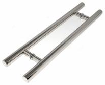Ручка дверная скоба Rezident Hg-01 Cp блестящий хром 600/400