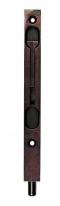 Ригель (торцевой ограничитель, шпингалет) AGB D003202022  бронза (шоколад) 200 мм