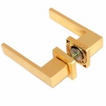 Ручка дверная на квадратной розетке Rezident Em23 Gp
