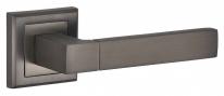 Ручка на квадратной розетке Bussare STRICTO A-67-30 GRAPHITE графит