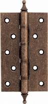 Петля дверная универсальная Corona, Античная бронза 125x75x3