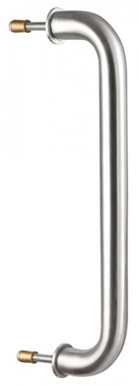 Ручка дверная скоба Fuaro Ph-21-25/300-Inox (нержавейка)
