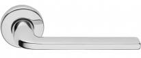 Ручка дверная на круглой розетке Forme Milly 133 R Хром полированный