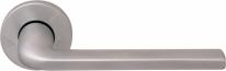 Ручка дверная на круглой розетке Forme Milly 133 R Хром матовый
