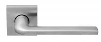 Ручка дверная на квадратной розетке Forme Milly 133 K Хром матовый