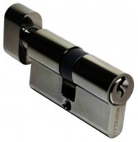 Ключевой цилиндр Morelli с поворотной ручкой 60CK BN, Черный