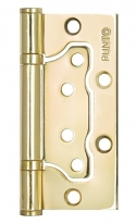 Петля универсальная без врезки 200-2B 100x2,5 PB (золото), Punto