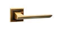 Ручка дверная на квадратной розетке Bussare Aspecto A-64-30, Кофе мокко