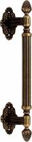 Ручка дверная скоба Corona 0101 457 мм Античная бронза