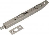 Ригель торцевой Agb (никель) 160 мм