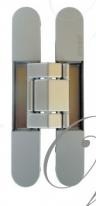 KUBICA 7120 DXSX, CS универсальная петля, цвет Матовый хром (140 kg)
