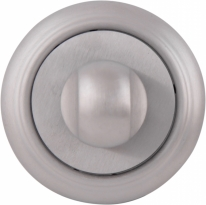 Дверная завертка Melodia Wc 50 V Серебро