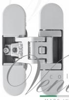 Петля дверная скрытая Koblenz Kubica 6700 DXSX, CR.SAT Матовый хром (70 кг)