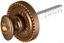 Armadillo Ручка поворотная BKW8/CL BB-17 Коричневая бронза, для металлической двери