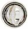 Фиксатор Extreza WC R03 натуральное полир. серебро + черный F24