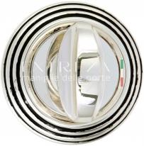 Фиксатор Extreza WC R05 натуральное полир. серебро + черный F24