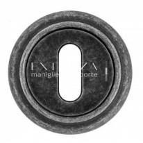 Накладка под ключ KEY Extreza R01 Античное серебро F45