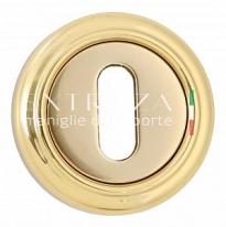Накладка под ключ KEY Extreza R01 Полированное золото F01