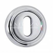 Накладка под ключ KEY Extreza R01 Полированный никель F21