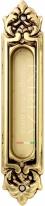 Ручка для раздвижной двери Extreza CLASSIC P601 Золото французское  + коричневый F59
