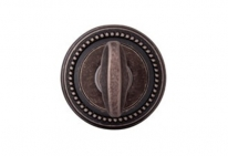 Дверная завертка Melodia Wc 50L Античное серебро