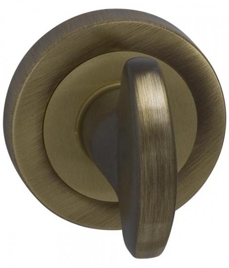 Ручка поворотная Venus 8х75мм (БРОНЗА) , без отв. для металлической двери