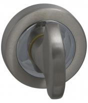 Дверная завертка Mbc Venus 8х75мм (Матовый никель/Хром) без отв. части  для металлической двери