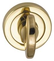 Дверная завертка Mbc Venus 8х75мм (Латунь), без отв. для металлической двери