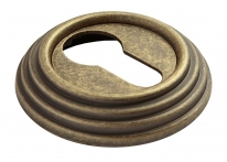 Накладка на ключевой цилиндр RUCETTI RAP-CLASSIC-L KH OMB Цвет - старая античная бронза
