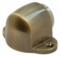 Ограничитель дверной напольный магнитный Morelli MDS-1 AB Цвет-Античная бронза