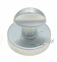 Фиксатор поворотный на круглом основании Fratelli Cattini WC 7-CS матовый хром