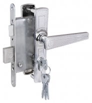 Комплект дверной Armadillo ЗВ4-3.01 (Хром)