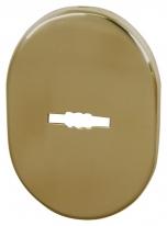 Декоративная накладка ESC 475 GP ЛАТУНЬ на сувальдный замок