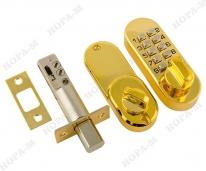 Кодовый замок 600 темное золото Нора-М