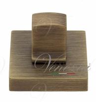 Фиксатор поворотный на квадратном основании Fratelli Cattini WC 8-BY матовая бронза