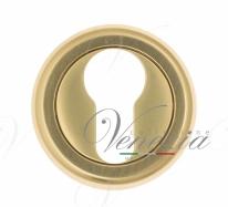 Накладка дверная под цилиндр Venezia CYL-1 D1 французское золото
